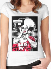 Drag City - Manila Luzon Women's Fitted Scoop T-Shirt