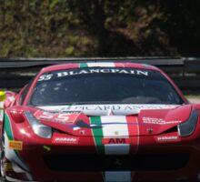 Ferrari 458 GT - Blancpain GT Series - Hungaroring 2016 Sticker