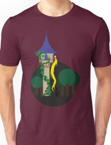 Rapunzel and the Witch Unisex T-Shirt