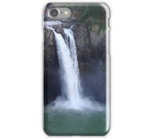 The Waterfalls at Snoquamish, WA iPhone Case/Skin
