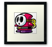 Shy Guy Framed Print