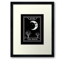 The Moon Tarot Framed Print