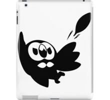 Rowlet Black iPad Case/Skin