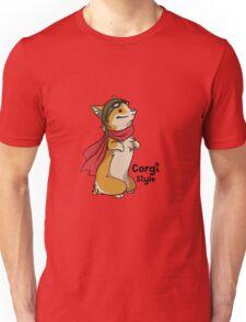 Corgi Style - Doggie Style Unisex T-Shirt