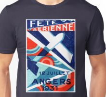 1931 French International Air Show   Unisex T-Shirt