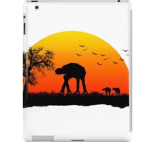 AT-AT. Left to roam free iPad Case/Skin