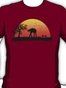 AT-AT. Left to roam free T-Shirt