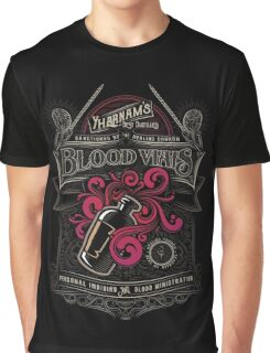 Yharnam's Blood Vials Graphic T-Shirt