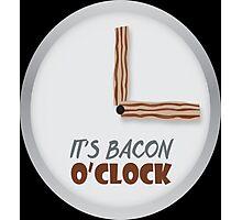 Bacon O'clock  Photographic Print