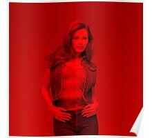Kelly Kelly - Celebrity (Stylish Pose) (Square) Poster