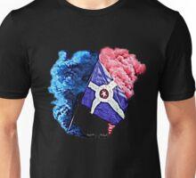 Smoke and Flag Unisex T-Shirt