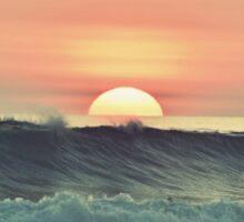 Ocean sunset Sticker