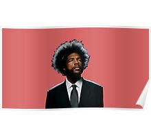 Questlove - Suit and Tie Poster