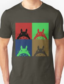 Warhol's Totoro Dark Version T-Shirt
