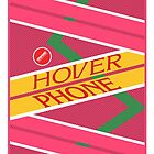 Hover Phone from Back To The Future by acid-spit