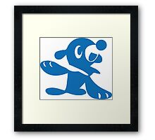 Popplio Blue Framed Print