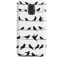 Bird on a wire Samsung Galaxy Case/Skin