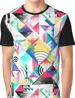 Geometric abstract watercolour  Graphic T-Shirt