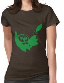 Rowlet Green Womens Fitted T-Shirt