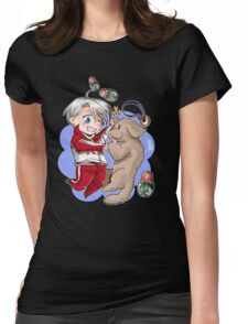 Victor Nikiforov Womens Fitted T-Shirt