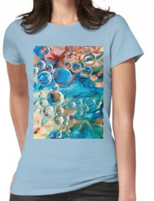 Bubbles and Ink Womens Fitted T-Shirt