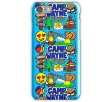 Camp Wayne  iPhone Case/Skin