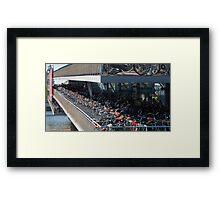 Bikes! Framed Print
