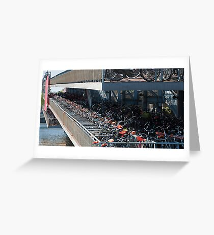 Bikes! Greeting Card
