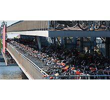 Bikes! Photographic Print