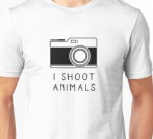 I Shoot Animals Unisex T-Shirt