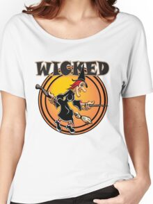 WICKED Witch Women's Relaxed Fit T-Shirt