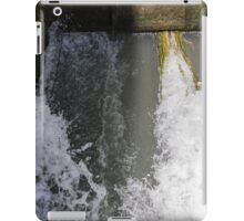 closed on the river iPad Case/Skin