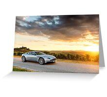 Aston Martin DB11 - Shot on Location in Italy Greeting Card