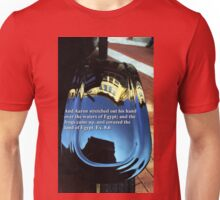 Car reflection and Bible verse 14 Unisex T-Shirt