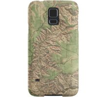 Vintage Map of The Grand Canyon (1926) Samsung Galaxy Case/Skin