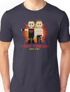 Sami Zayn & Kevin Owens Fight Forever 8-Bit Design Unisex T-Shirt