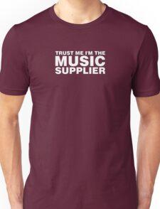 Music supplier (white) Unisex T-Shirt