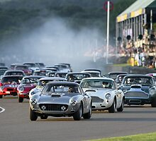 Racing at the Goodwood Revival  by M-Pics