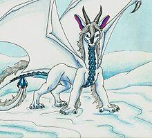 Tundra Dragoness by Briana Kane