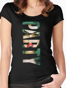 ADORE DELANO - PARTY Women's Fitted Scoop T-Shirt