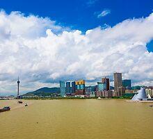 Macau cityscape by kawing921