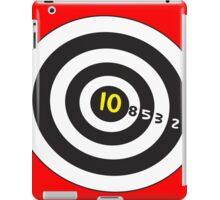 Target game for duvet fun! iPad Case/Skin