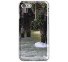 old bridge on river iPhone Case/Skin