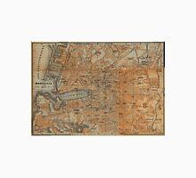 Vintage Map of Marseille France (1914) T-Shirt