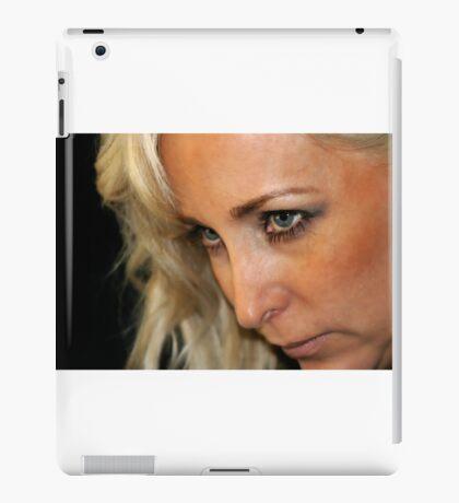 Blond Woman Strict iPad Case/Skin
