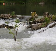 river and waterfall by spetenfia
