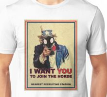 Join The Zombie Horde Unisex T-Shirt