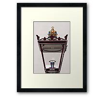 Lamplight Framed Print