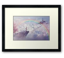 another paradise Framed Print