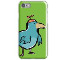 propellerhat blue bird iPhone Case/Skin